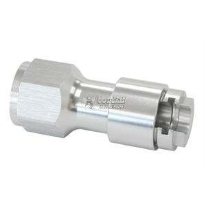 """6An 6AN Adapter Silver Male 3//8/"""" to Male Aeroflow AF817-06S 3//8/"""" Barb to"""