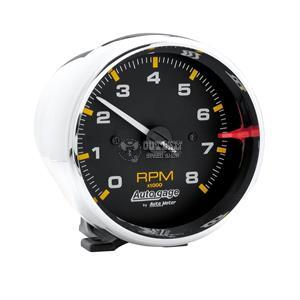 3 3//8 Chrono Tachometer 8K RPM AutoMeter 8197 Gauge in-Dash